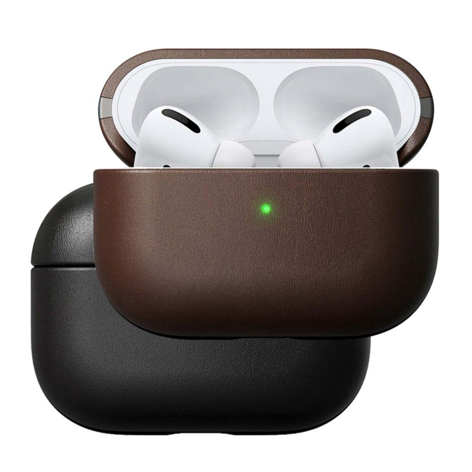 Nomad Rugged Airpods Pro-fodral Brun