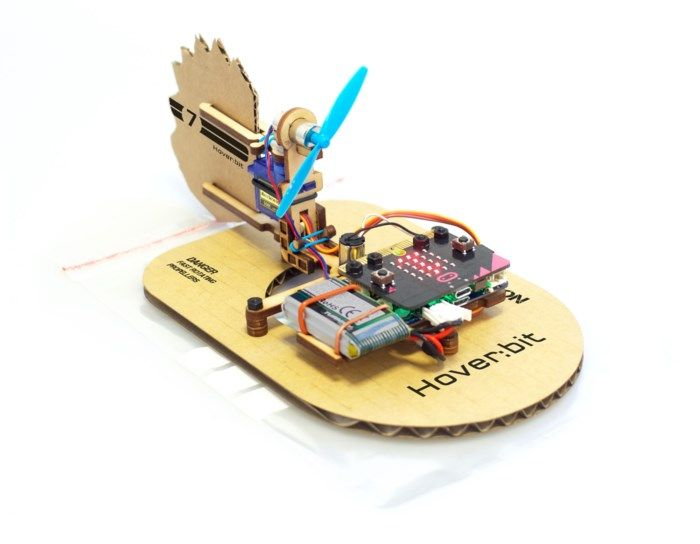MakeKit Hover:bit Svävare-byggsats för Micro:bit