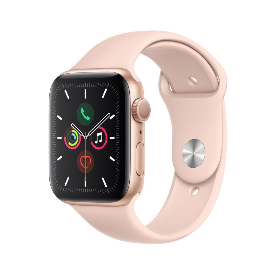 Apple Watch Series 5 (GPS) 44 mm Gull/Rosa