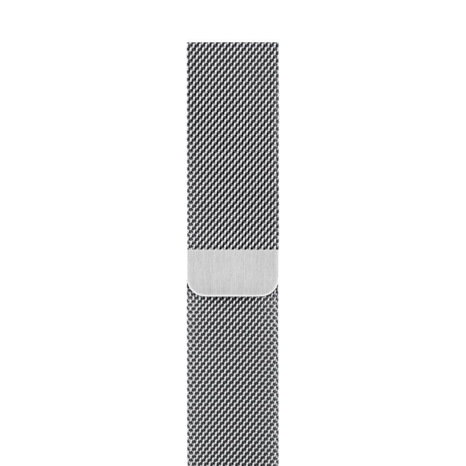 Apple Milanese Loop til 38/40 mm Apple Watch Sølv