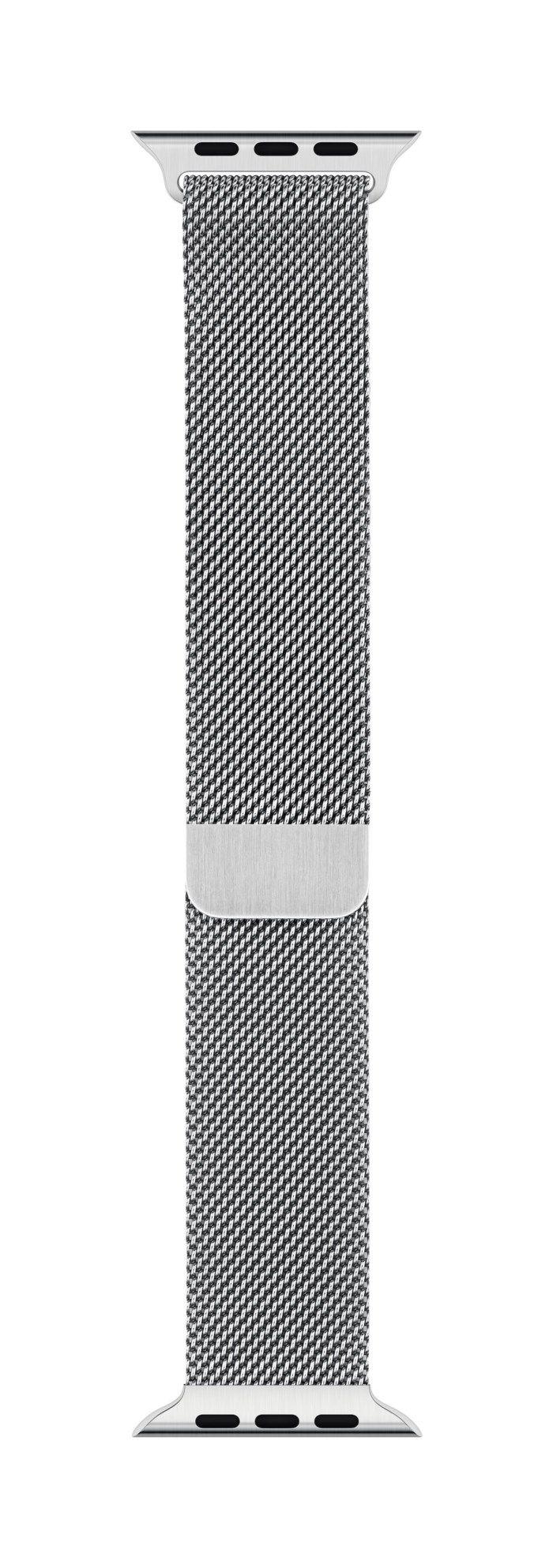 Apple Milanesisk loop till 42/44 mm Apple Watch Silver