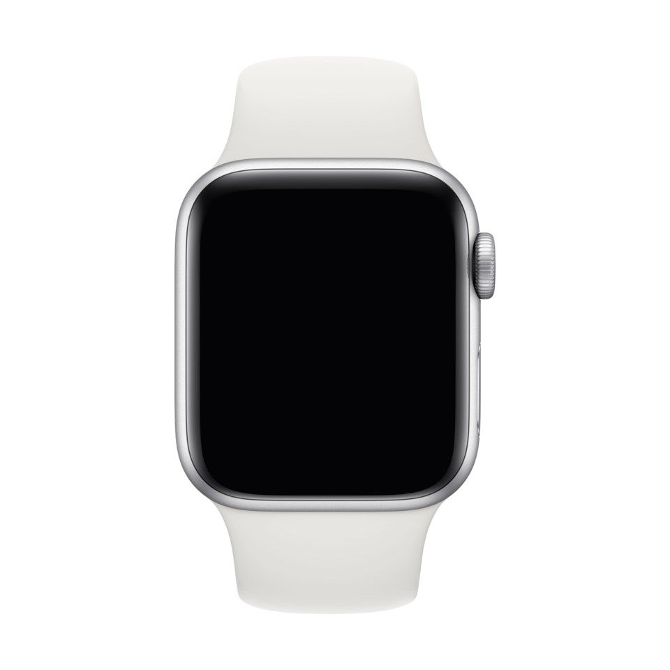 Apple Sport Band til 38/40 mm Apple Watch Hvit