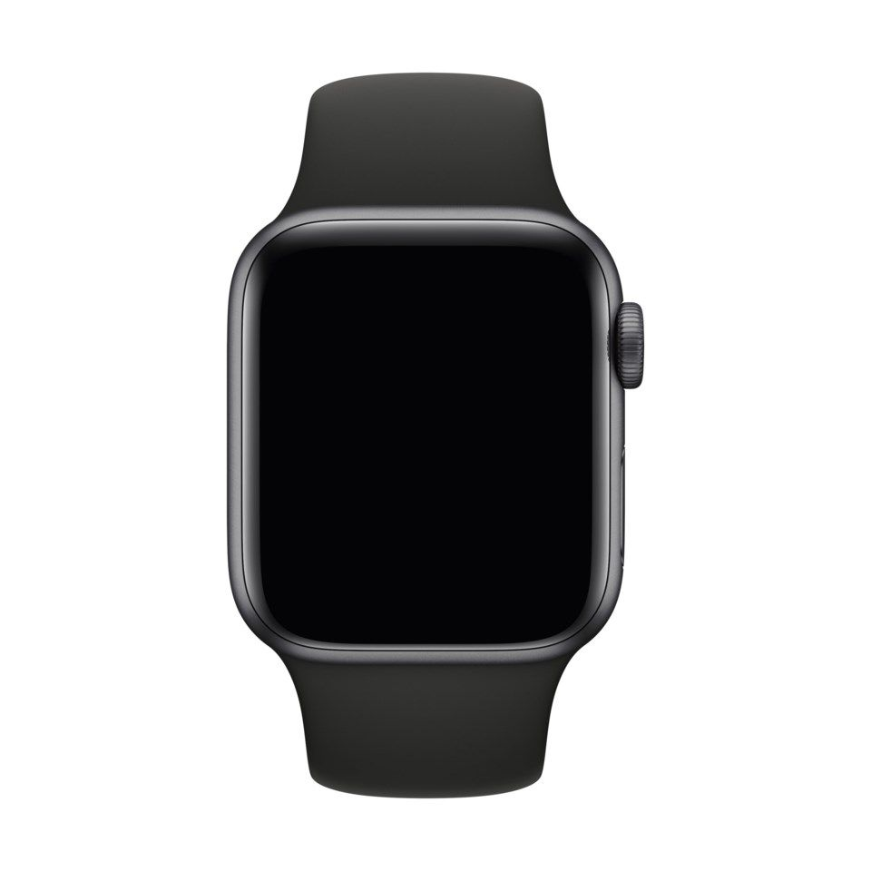Apple Sport Band til 42/44 mm Apple Watch Svart