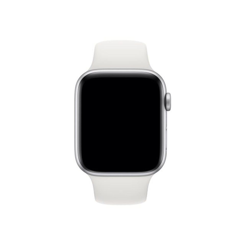 Apple Sportband till 42/44 mm Apple Watch Vit