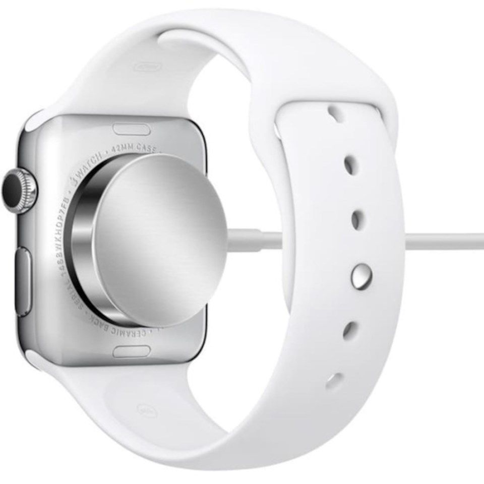 Apple Magnetisk ladekabel-til-USB-kabel for Apple Watch 1 m