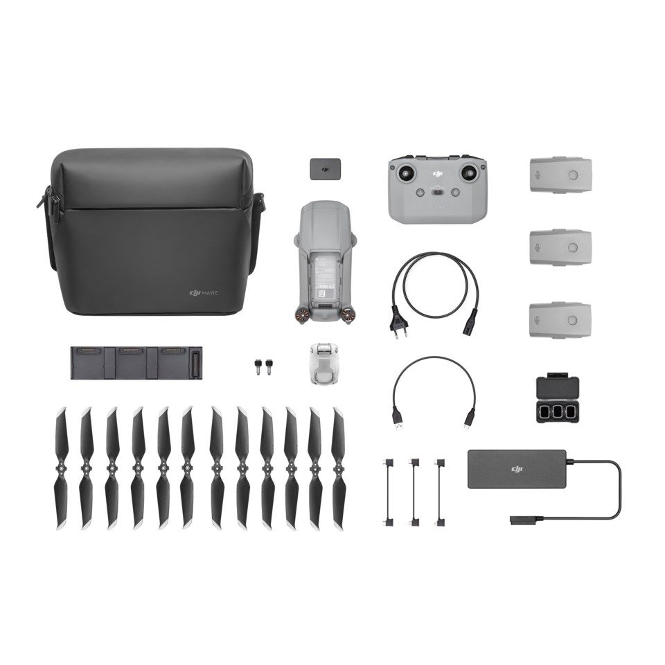 Dji Mavic Air 2 Fly More Combo Profesjonell drone