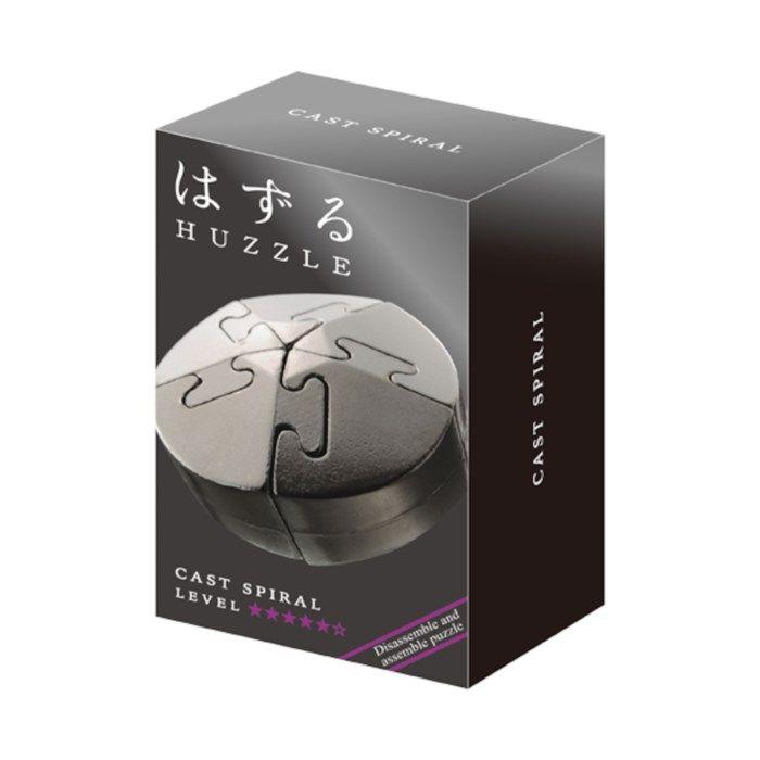 Hanayama Huzzle Cast Spiral Hjärnpussel i metall