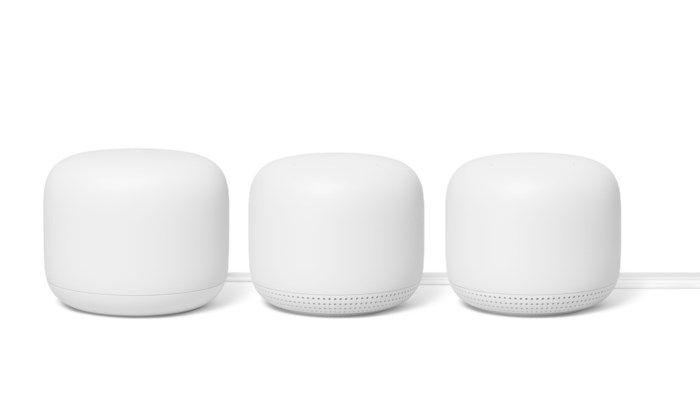Google Nest Wifi AC2200 Mesh-system 3-pack