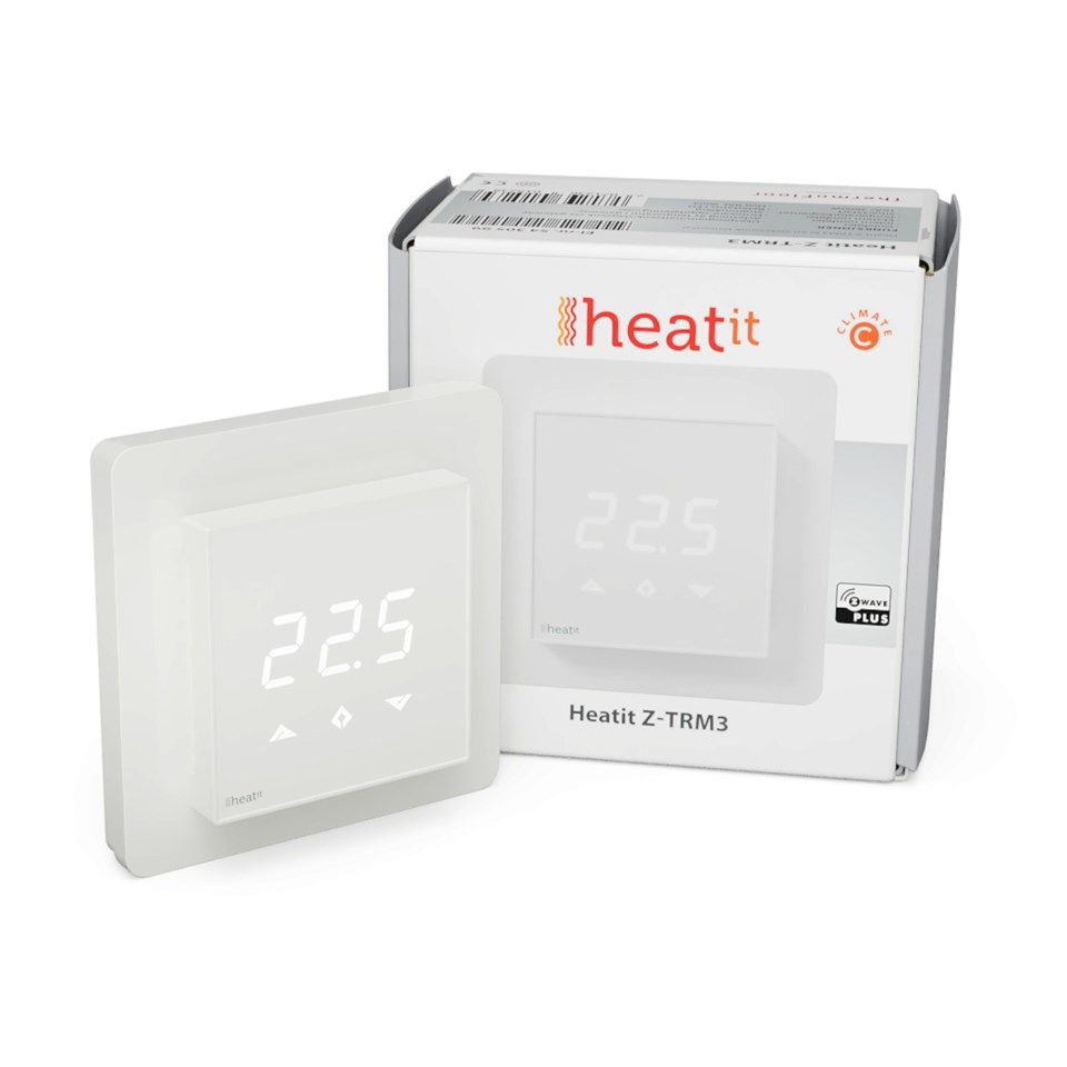 Heatit Z-TRM3 Z-wave-rumstermostat