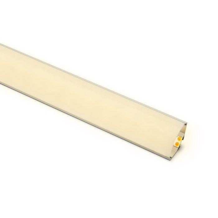 Luxorparts Aluminiumprofil hörnmontage för LED-lister