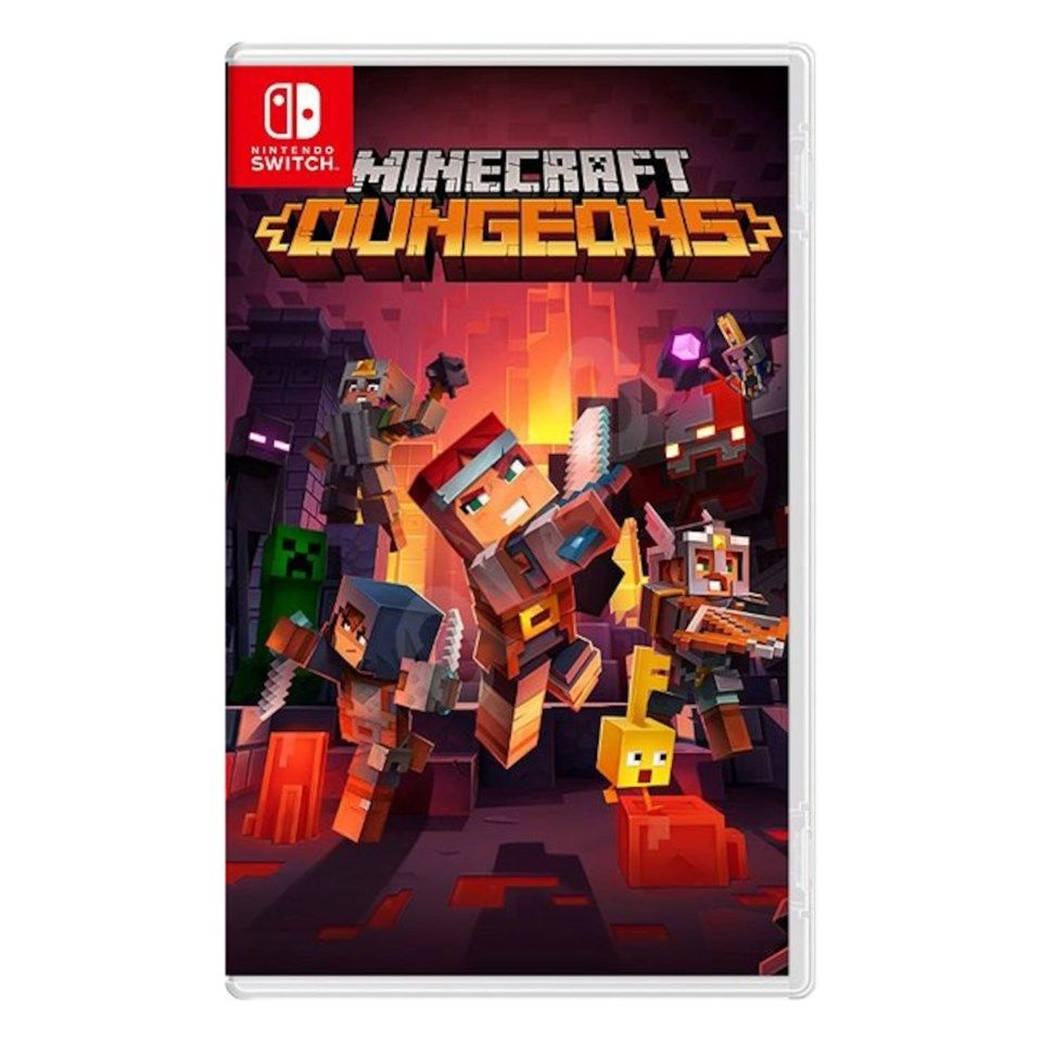 Nintendo Minecraft Dungeons til Switch