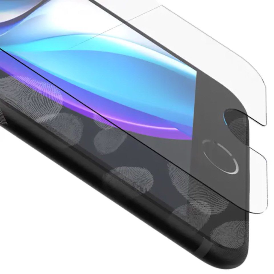 Invisible Shield Glass Elite+ for iPhone SE (2020), 8, 7 og 6