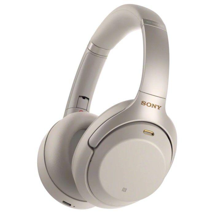 Sony WH-1000XM3 Trådlösa hörlurar med aktiv brusreducering Silver