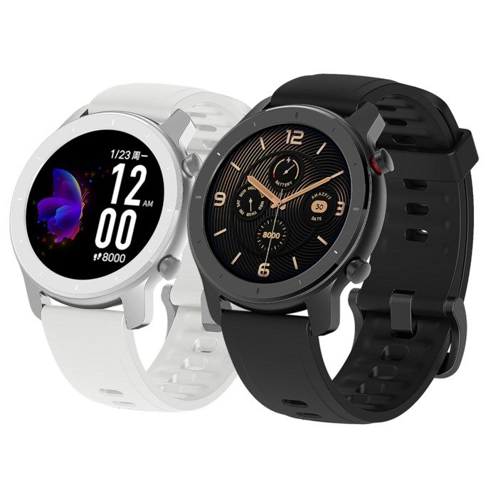 Amazfit GTR Smartklocka med always-on-display 42 mm Svart