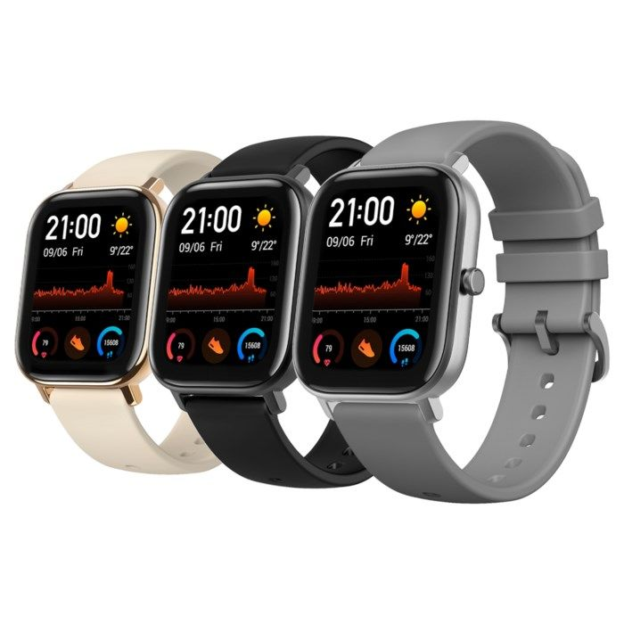 Amazfit GTS Smartklocka med always-on-display Guld