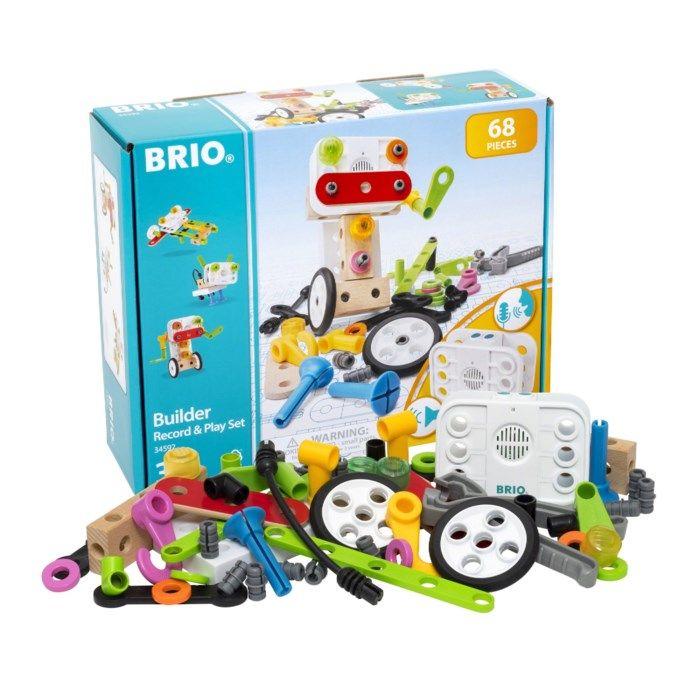 Brio Builder Record & Play Set Byggleksaker