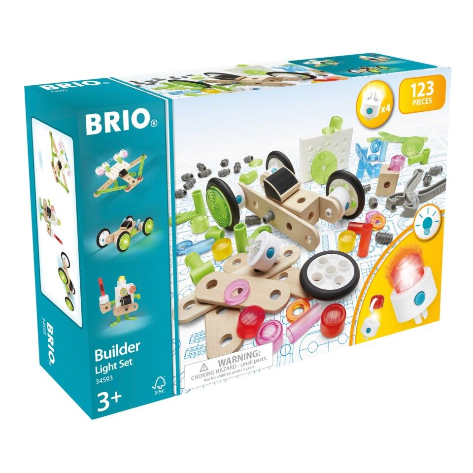 Brio Builder Light set Byggleksaker