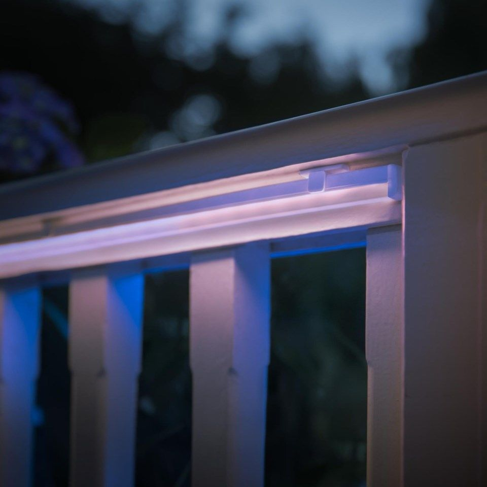 Philips Hue Philips Hue Lightstrip Outdoor RGB LED-list 2 m