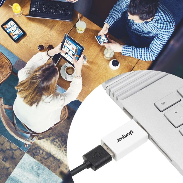Plexgear USB-datablockerare