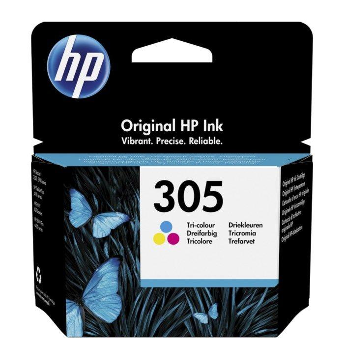 HP 305 Bläckpatron Flera färger
