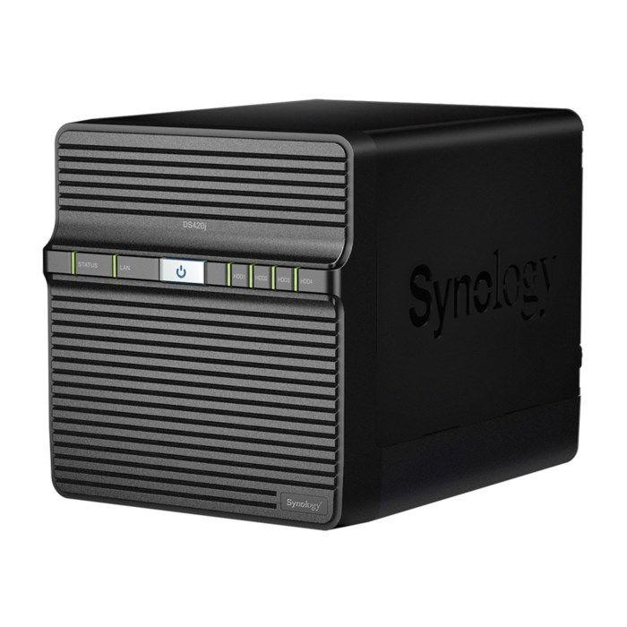 Synology DS420J Nas för 4 hårddiskar