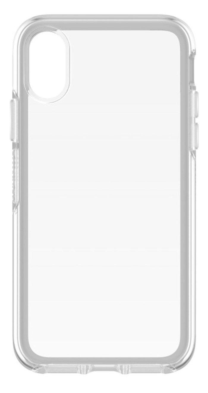 Otterbox Symmetry Tåligt mobilskal för iPhone X och Xs Klar