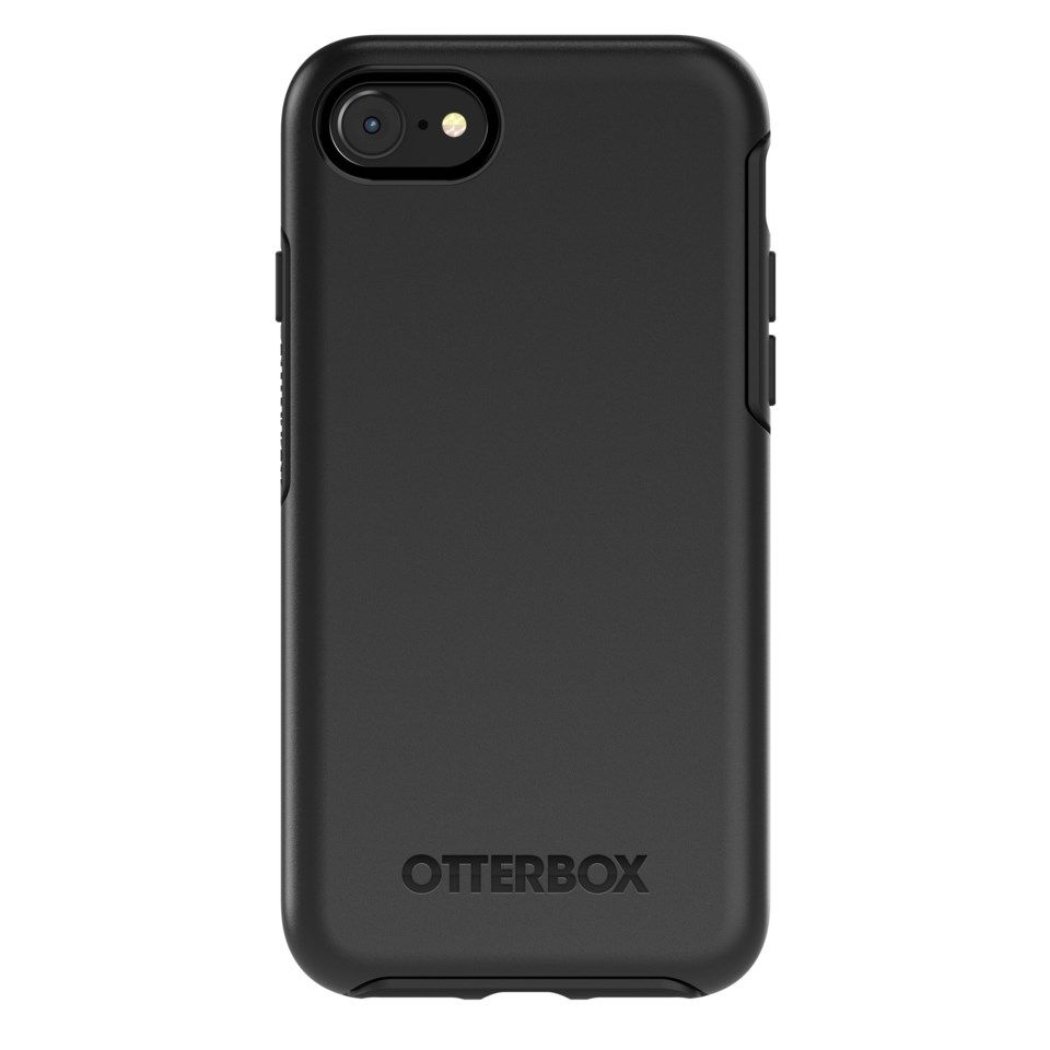 Otterbox Symmetry Robust deksel for iPhone 6, 6s, 7, 8, SE Svart