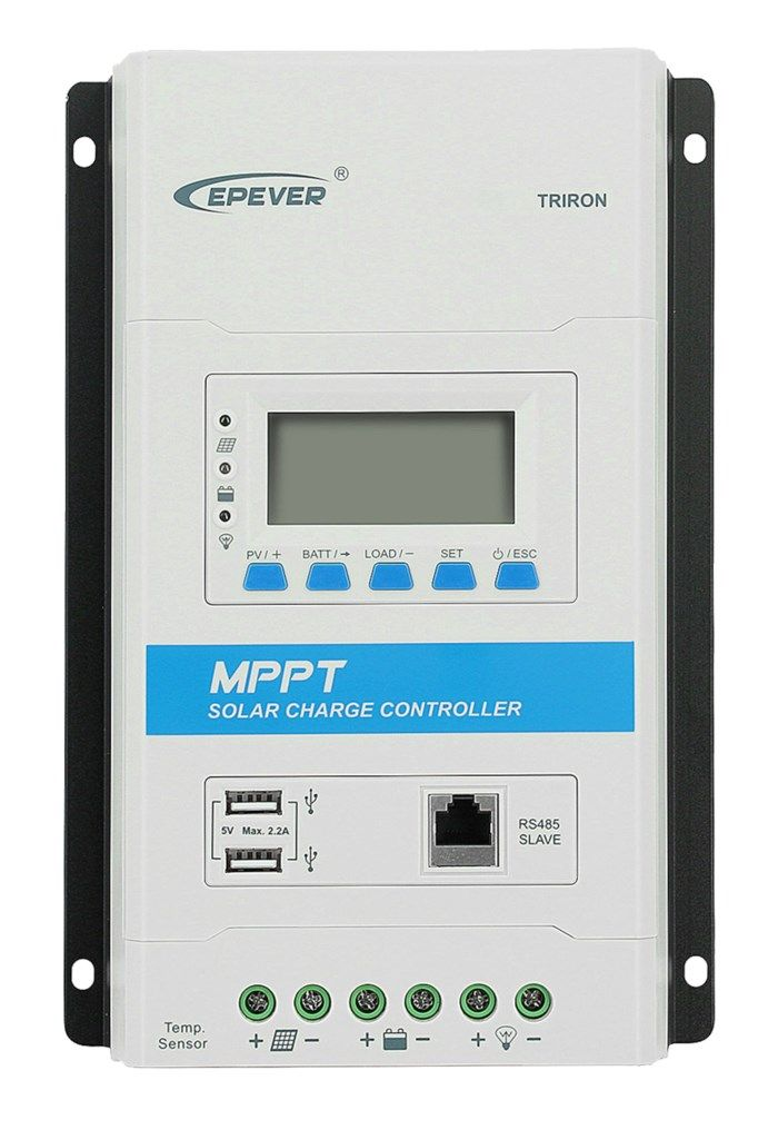 Epever Triron 2210N Solcellsregulator 20 A