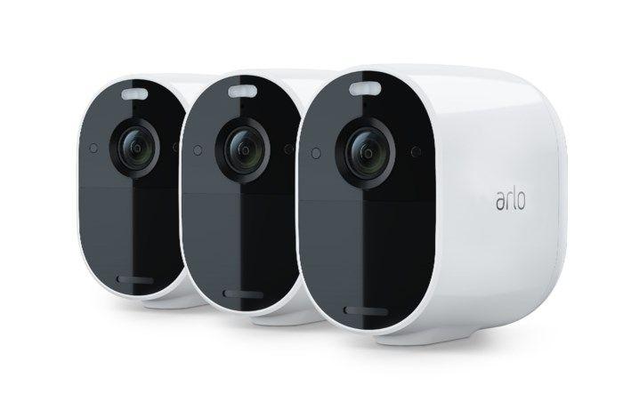 Arlo Essential Övervakningskamera 3-pack Vit