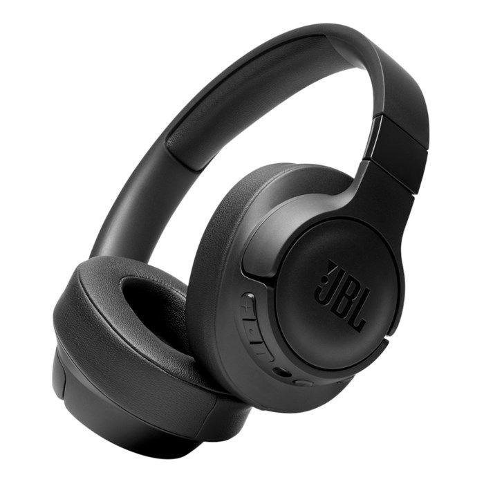 JBL Tune 750BTNC Trådlösa hörlurar med aktiv brusreducering Svart