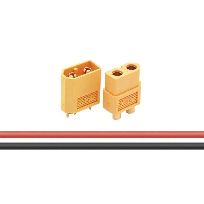 Luxorparts Kontaktset XT60 med krympslang 10 par