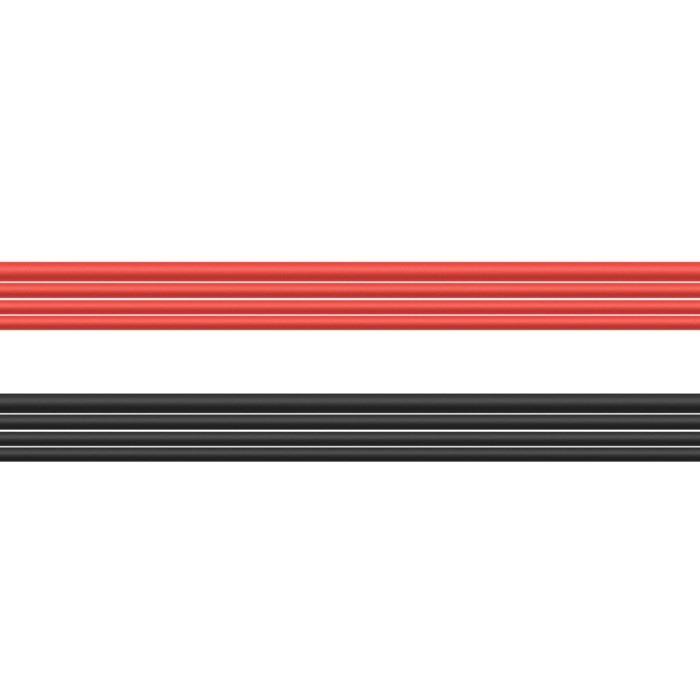 Luxorparts Mjuk silikonkabel set