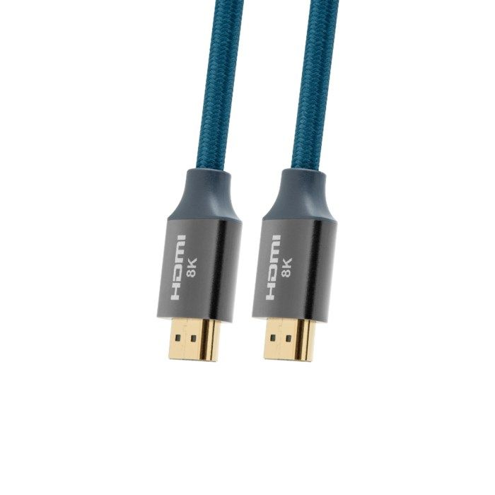 Nikabe HDMI-kabel med 8K-stöd 1 m
