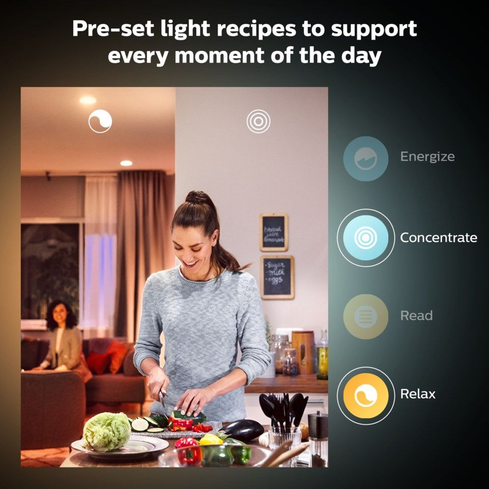 Philips Hue Color Ambiance Smart LED-lampa E14 470 lm 1-pack