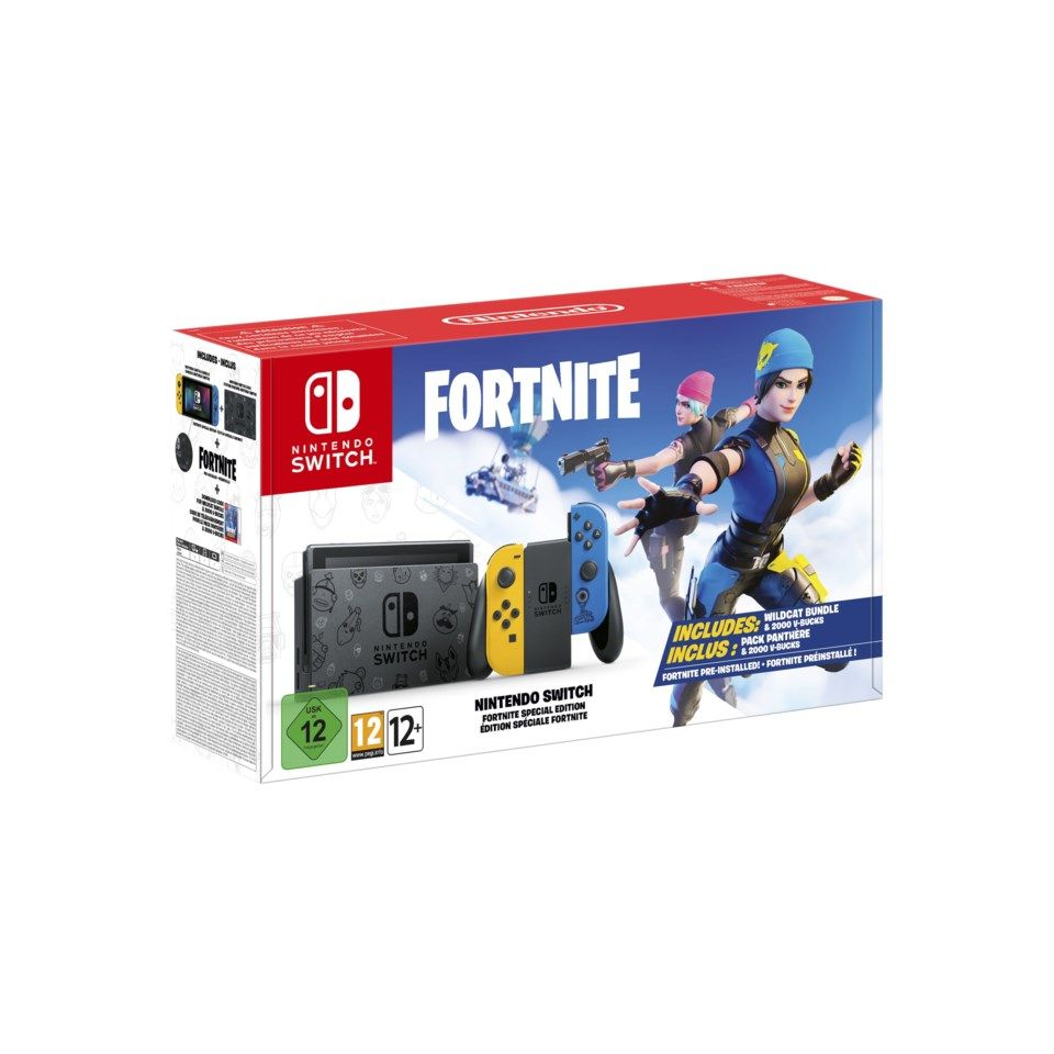 "Nintendo Switch (2019) Spelkonsol 6,2"" Fortnite Edition"