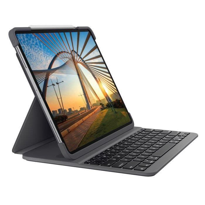 "Logitech Slim Folio Pro Tangentbordsfodral för iPad Pro 12,9"""