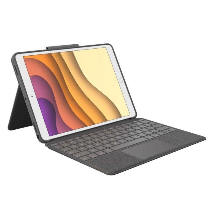Logitech Combo Touch Tangentbordsfodral för iPad Air 2019/Pro 10,5