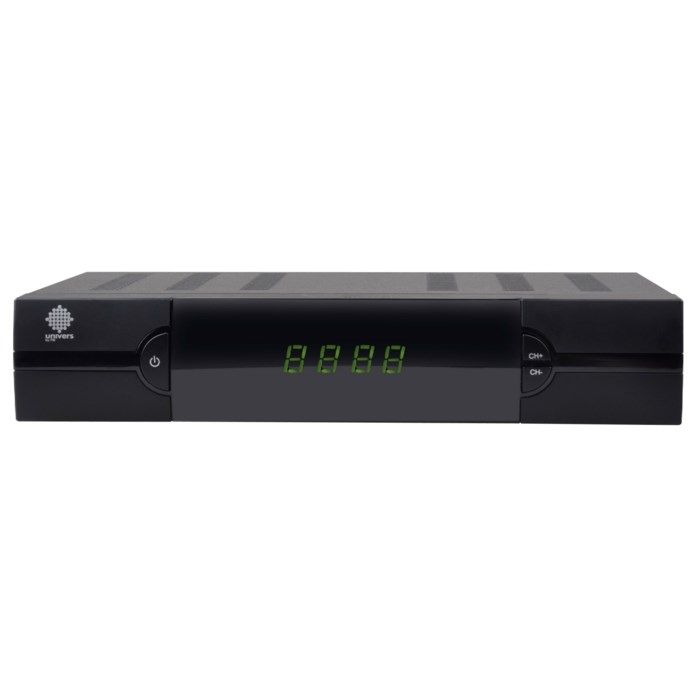 Digital-TV-mottagare med HDTV-stöd