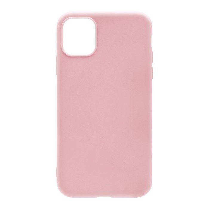 Linocell Second skin 2.0 Mobilskal för iPhone 12 och 12 Pro Rosa