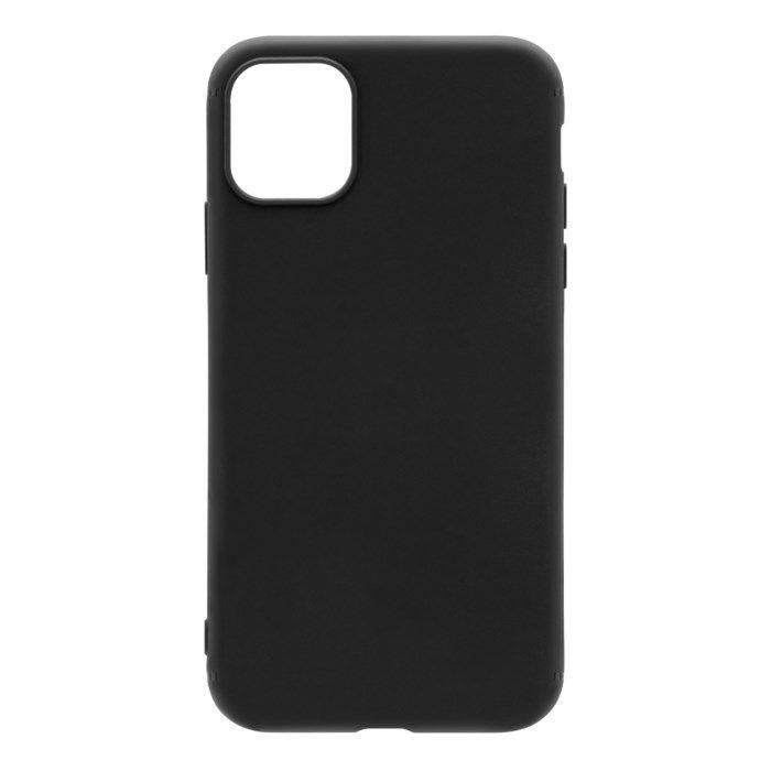 Linocell Second skin 2.0 Mobilskal för iPhone 12 och 12 Pro Svart
