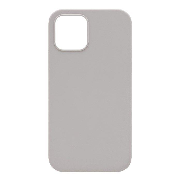 Linocell Rubber Case iPhone 12 och 12 Pro Grå