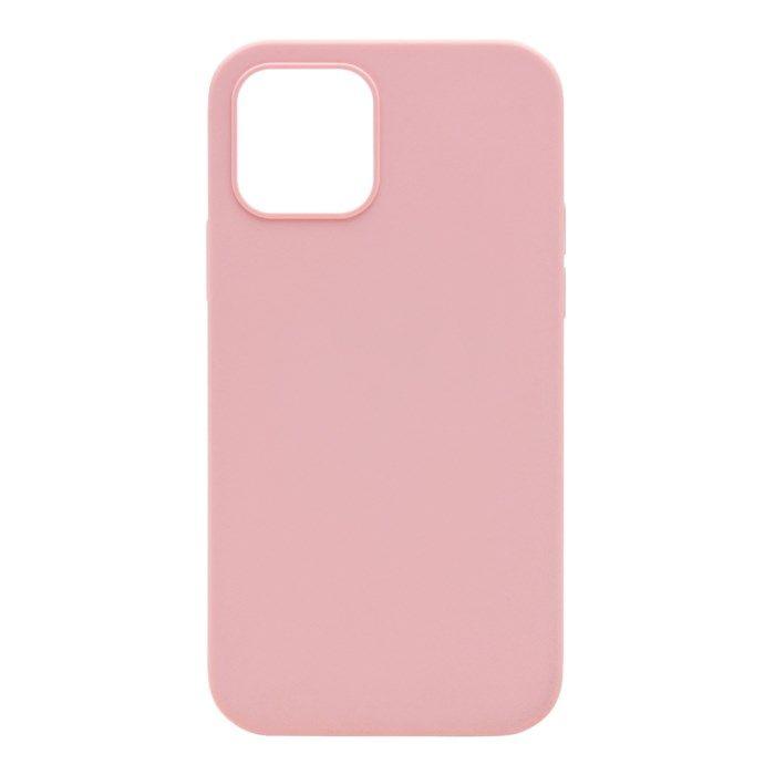 Linocell Rubber Case iPhone 12 och 12 Pro Rosa