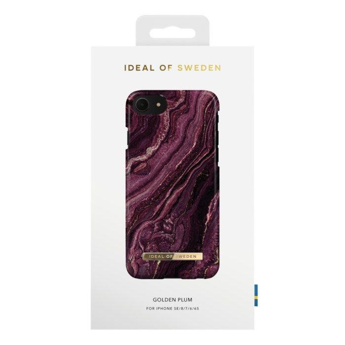 IDEAL OF SWEDEN Mobilskal för iPhone 6-8 och SE 2020 Golden Plum
