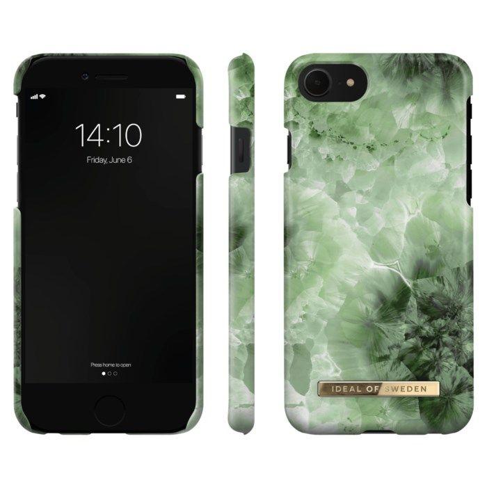 IDEAL OF SWEDEN Mobilskal för iPhone 6-8 och SE 2020 Crystal Green Sky