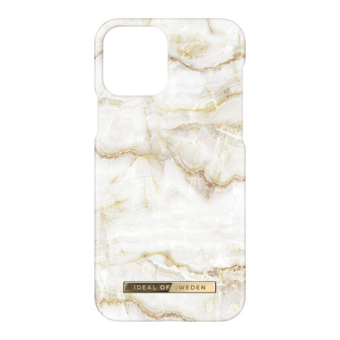 IDEAL OF SWEDEN Mobilskal för iPhone 12 och 12 Pro Golden Pearl Marble