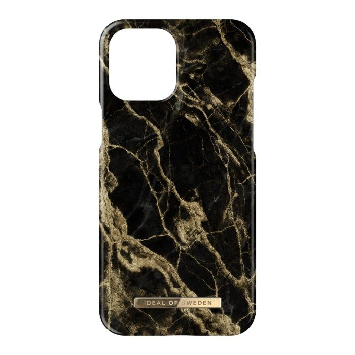 IDEAL OF SWEDEN Mobilskal för iPhone 12 Pro Max Golden Smoke Marble