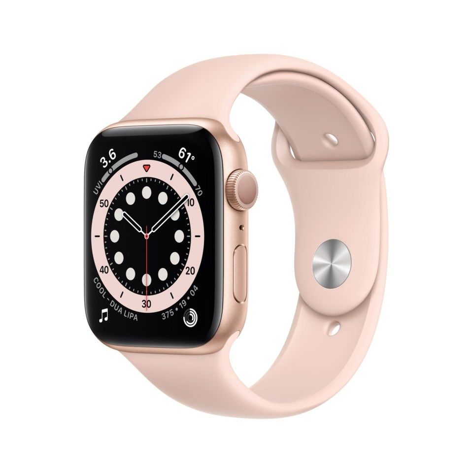 Apple Watch Series 6 (GPS) 44 mm Guld/Rosa