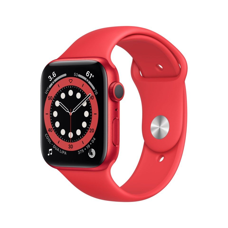 Apple Watch Series 6 (GPS) 44 mm (Product) RED