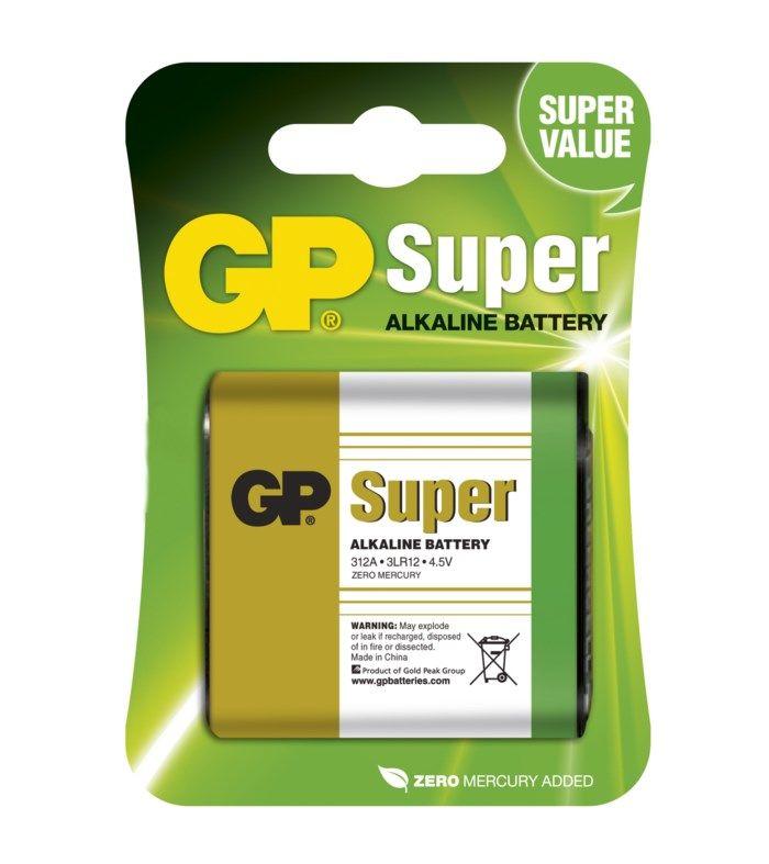 GP 4,5 V-batteri (3LR12)