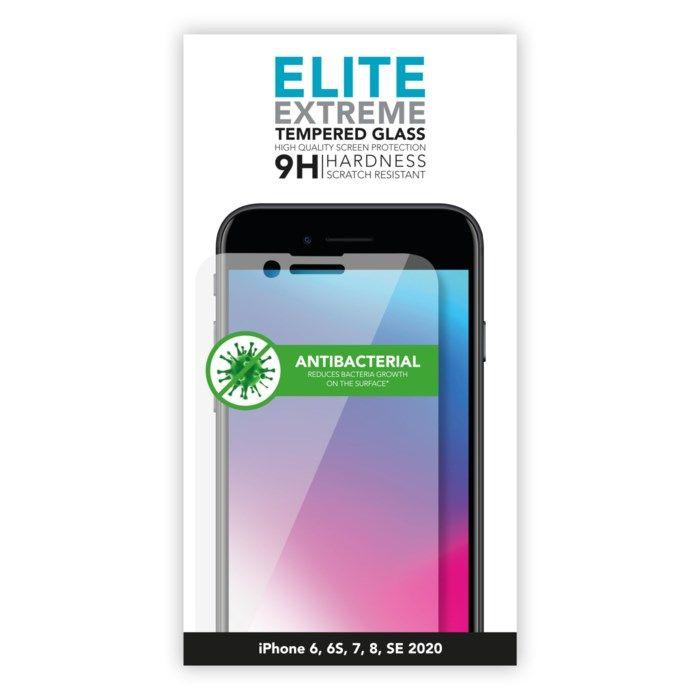 Linocell Elite Extreme Skärmskydd för iPhone 6-8 och SE 2020